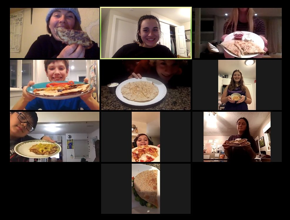 Virtual Dinner Club