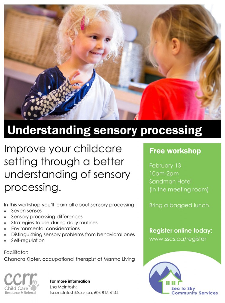 CCRR - sensory workshop