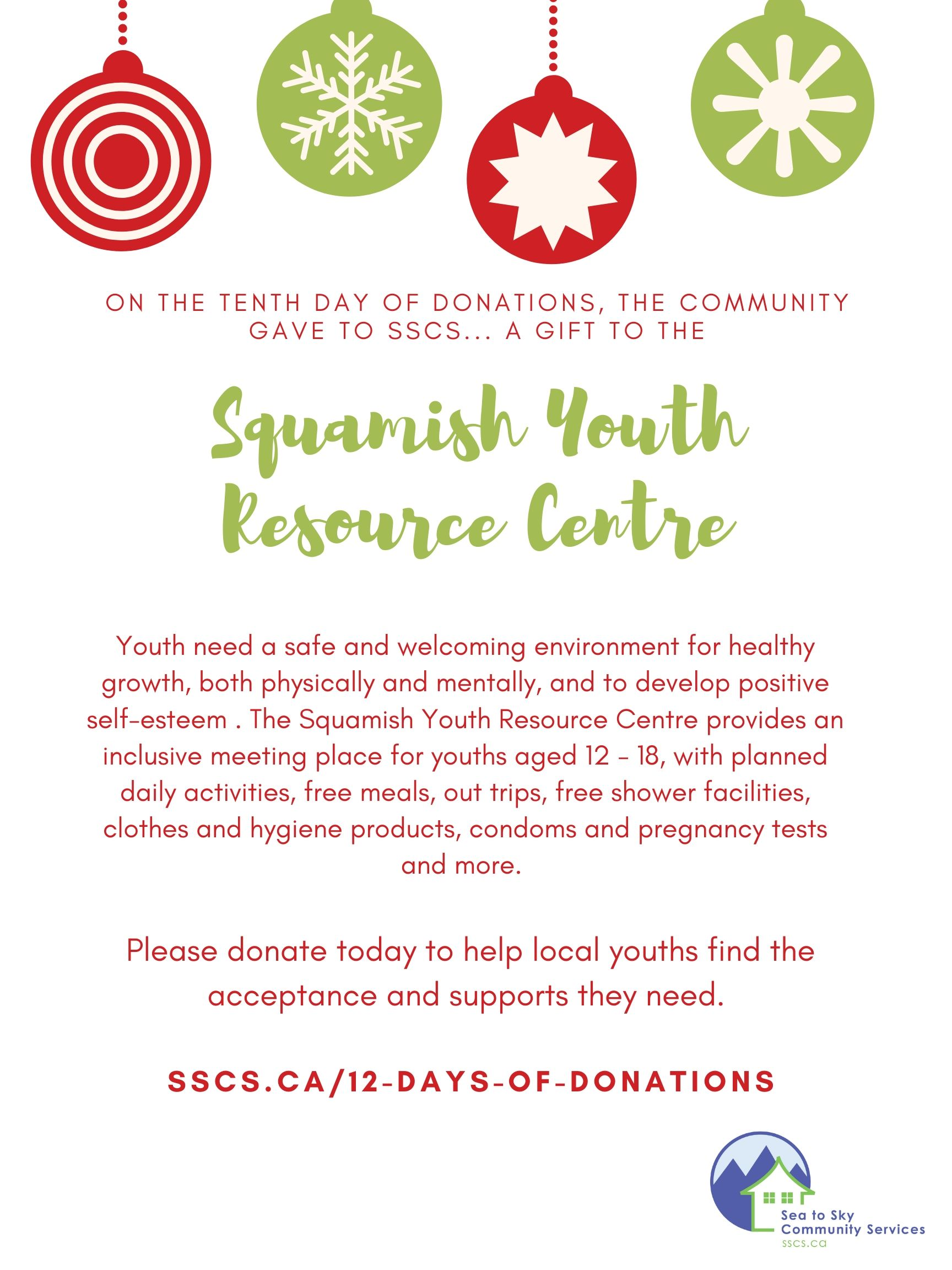 Day 10 - Youth Centre