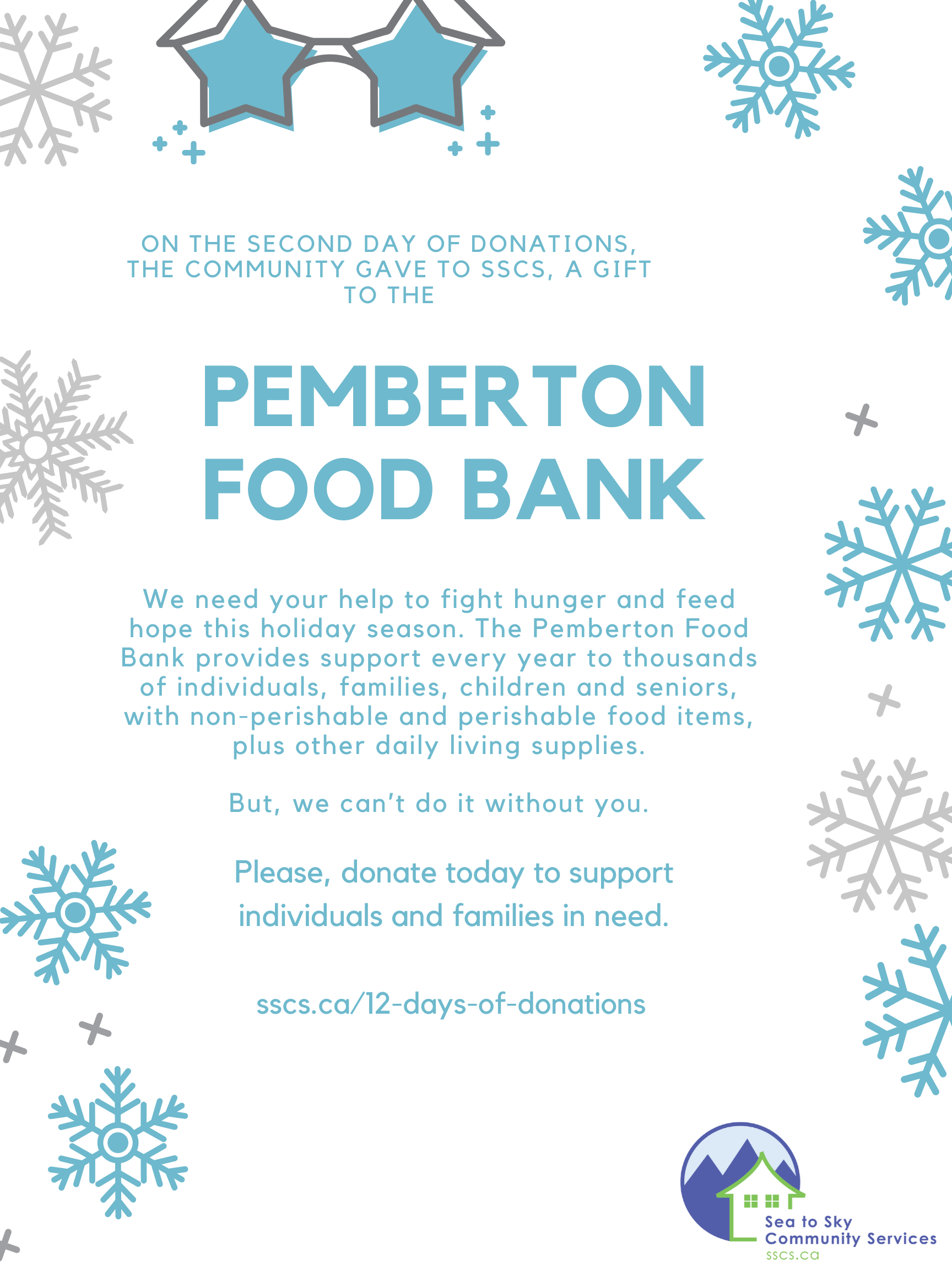 Day 2 - Pemberton Food Bank