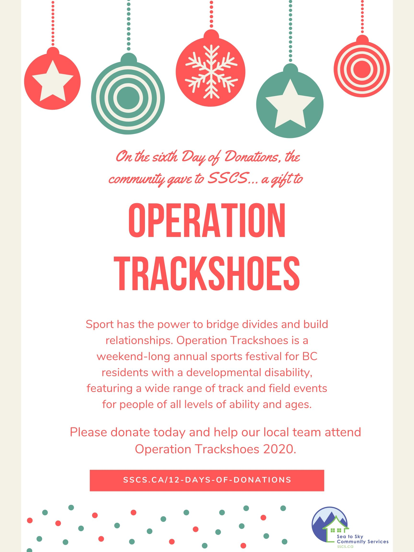 Day 6 - Operation Trackshoes