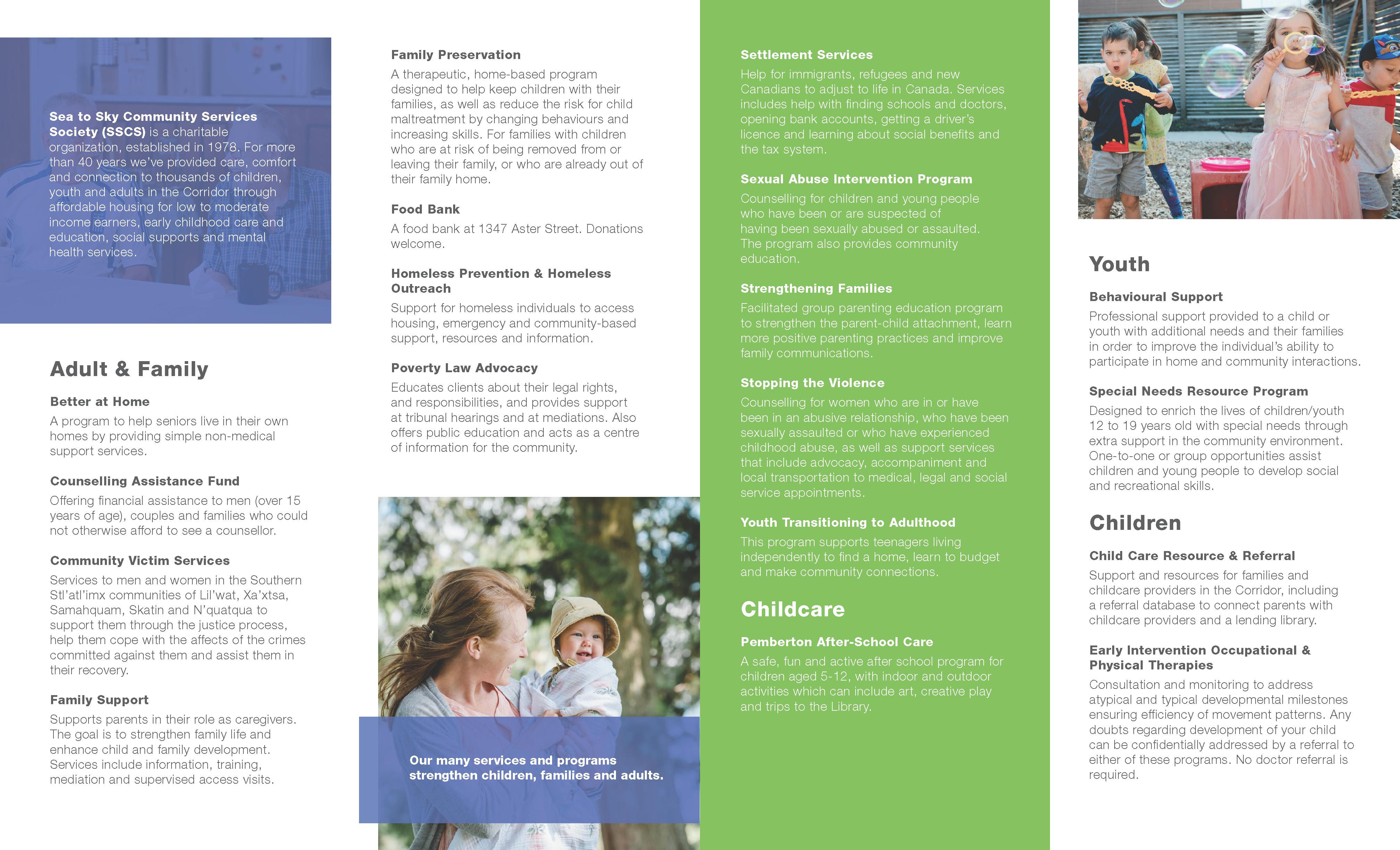 Pemberton Program Guide