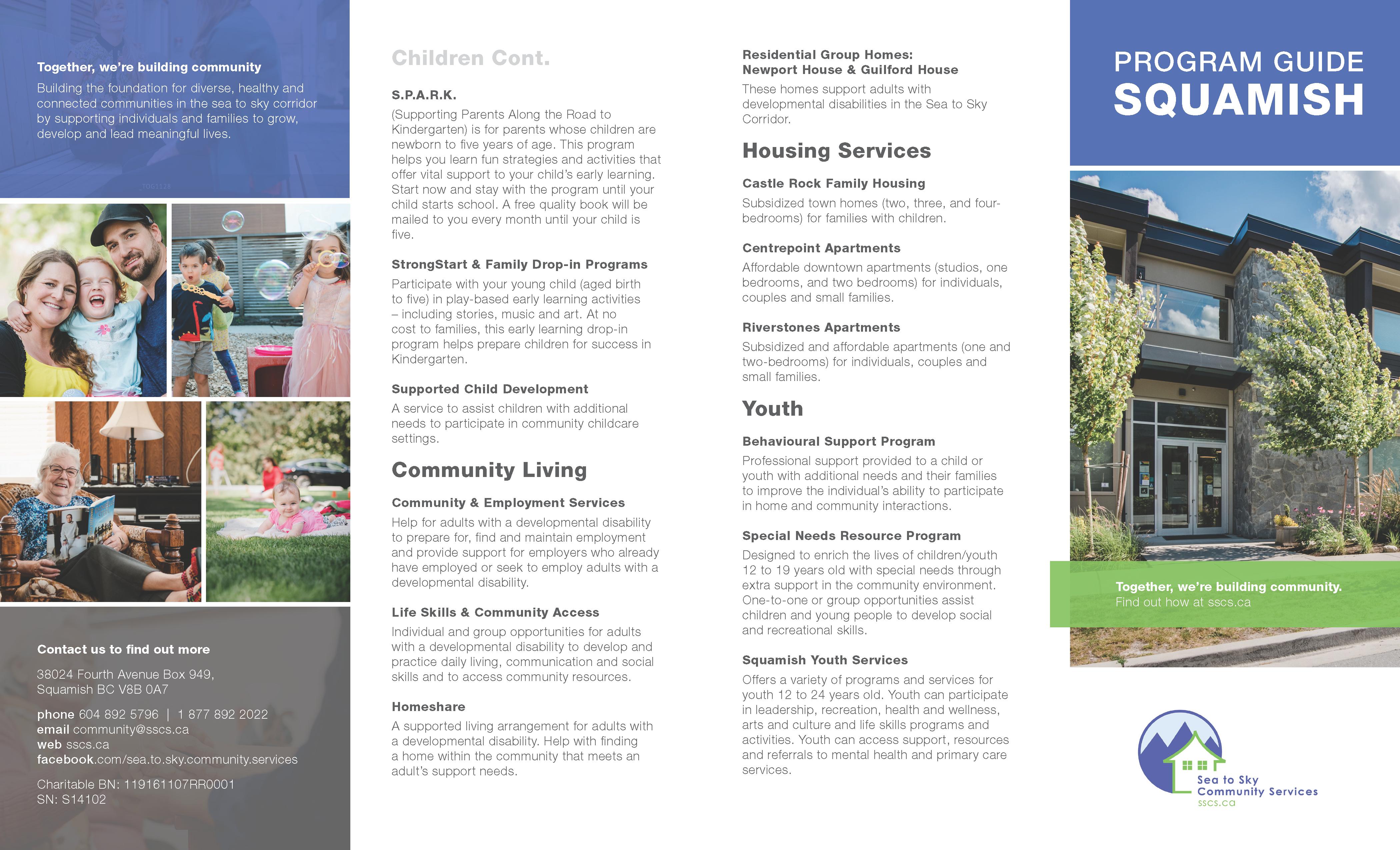 Squamish Program Guide